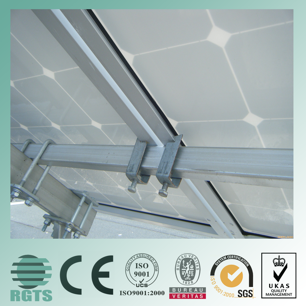 Sun Panel 300Wp Solar Panel Roof Mounting Bracket With High Quality Photovoltaic stents