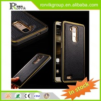 luxury genuine leather phone case for HUAWEI MATE 7