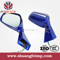 ZF001-3 FLYQUICK motorcycle motorbike racing bike side mirrors with turn signals for mirror for CF MOTO