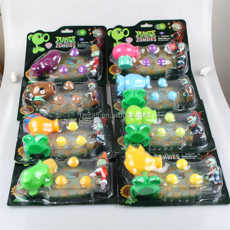 11 styles Plants vs Zombies Figures sets Plants and Zombies PVC toys Action Figures