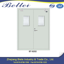Promotional half hour steel fire rated door for the hotel store fire channel