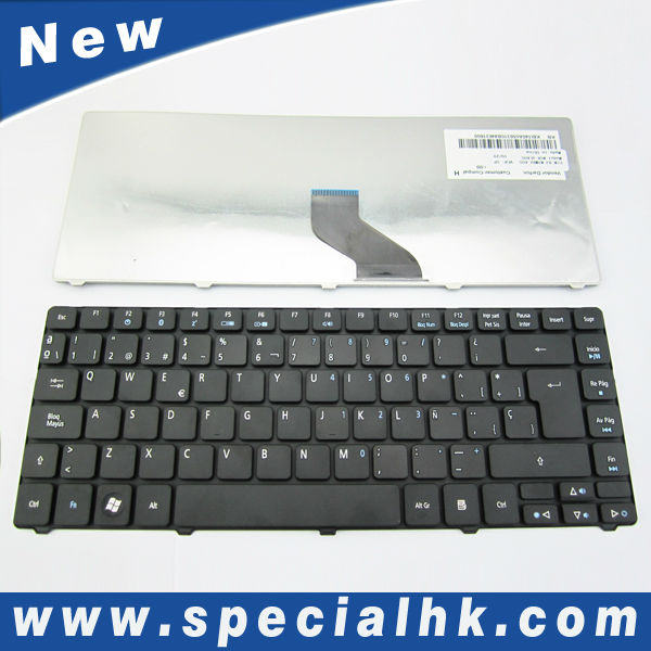 High quality for acer laptop keyboard layout 3810 3810T 4810T 4810