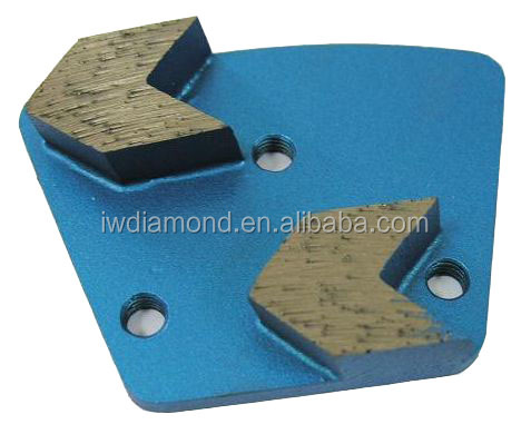 Concrete Grinding Tools of Arrow Shaped Plates for Suitable Type