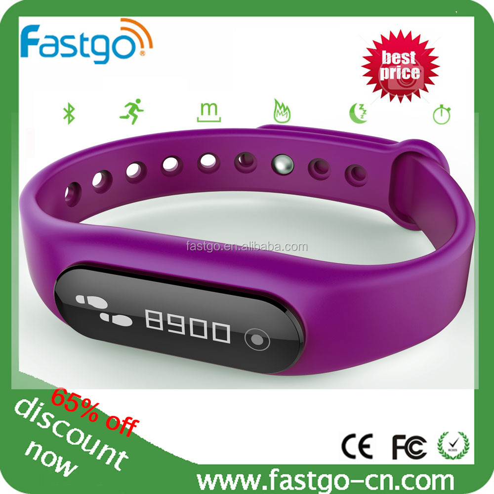 Cheap fitness wear sleep monitoring bracelet, smart ...