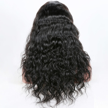 Premier Tangle Free Middle part 150% Density Virgin Brazilian Human Hair Front Lace Wig