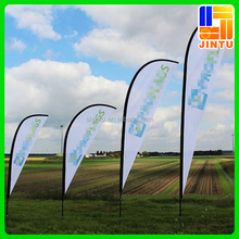Giant Beach Flags/Advertising Flags Motorcycle Flag Pole