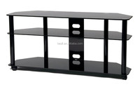 attention!dining room furniture tempered glass lcd tv stand ZA019