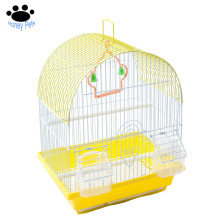 Honey pet metal wire elegant small round top bird cage