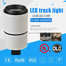 high power led track light can rotating lamp head for clothes shop
