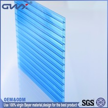 Good price new construction plastic raw materials greenhouse roofing polycarbonate sheet