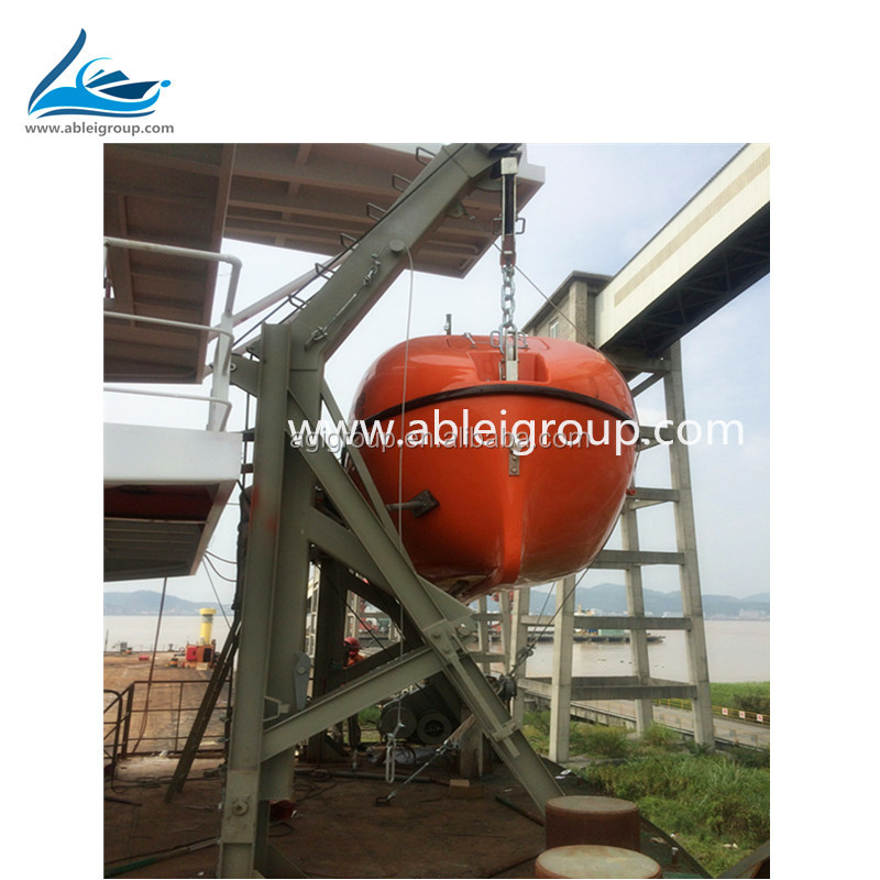 Lifeboat manufacturers 55 Person Totally Enclosed Type For Vessel