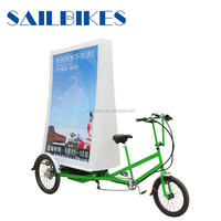 china jinxin brand billboard tricycle with battery