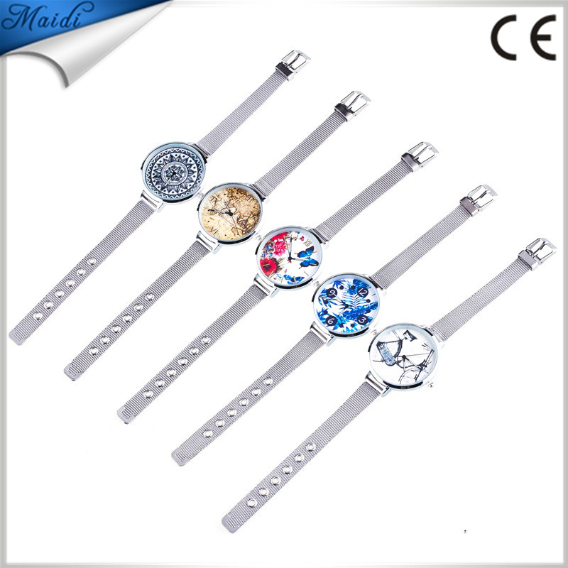 2017 Top Quality Quartz Movement Luxury Fashion Ladies Women Platinum Rhinestone Bracelet Geneva Dress Watches GW117
