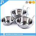 Wholesale China Merchandise Cage Hanging personalized pet bowls