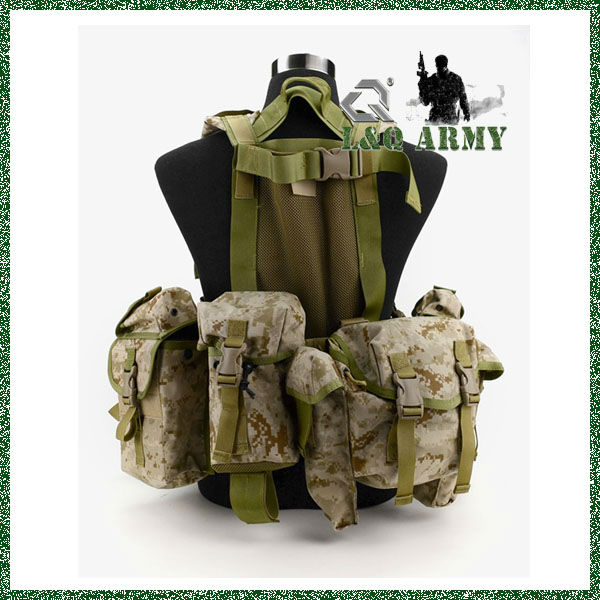 Tactical Army Vest Modular Waterborne Operation System Vest