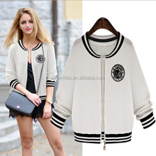 2015 autumn outfit is recreational joker round neck long sleeve knit small coat