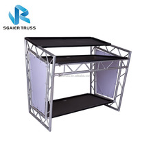 movable dj booth for sale, dj booth for bar,DJ truss table