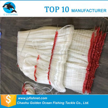 colored hdpe recycle netting hdpe netting multi monofilament fishing net with low price