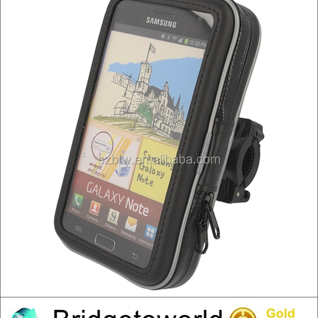 Waterproof case Bike Holder Bicycle Handlebar Mount Hold Waterproof Case For iPhone for Samsung