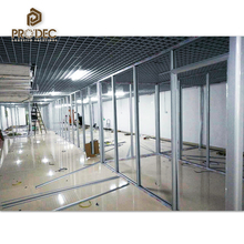 Guangzhou furniture wall partition materials office hall partition standard size