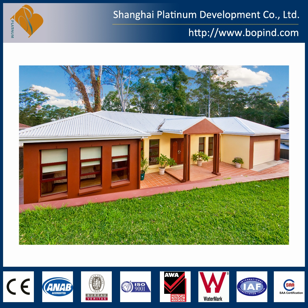 Residential and low-rise steel framing prefab house