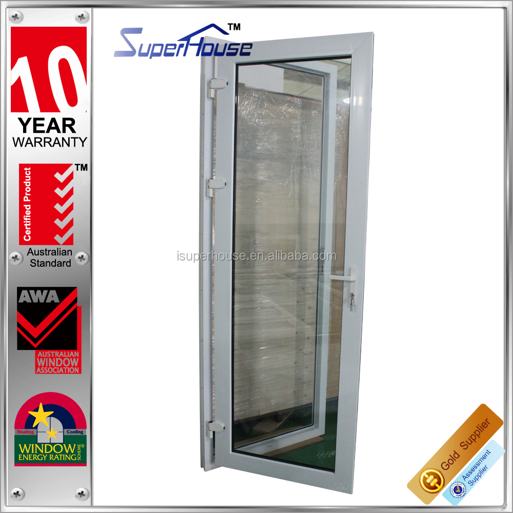 energy saving Australia standard prefab homes australian standard glass industrial doors/glass door/used exterior doors for sale