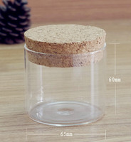 2015 Hot sale glass jar wooden lid