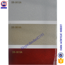 1mm 4ft x 8ft acrylic sheet ZHUV new color mate finishing