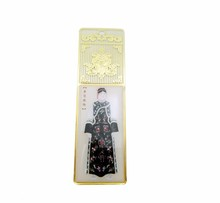 Jiahong digital beaded stainless steel metal custom bookmark led light