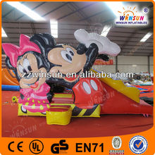 Outdoor inflatable fun city/amusement park equipment