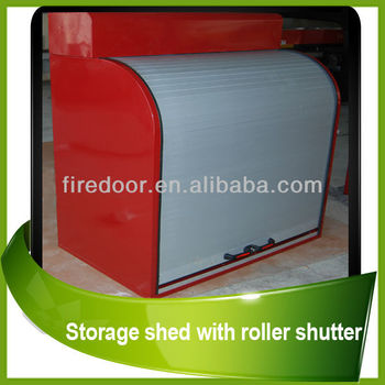 waterproof storage shed