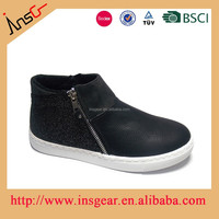High cut lovely casual kids shoes/children shoes