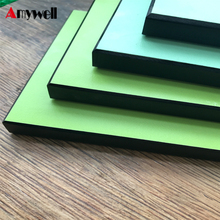 Amywell hot sale durable colorful hpl fire retardant panels formica sheets laminated board