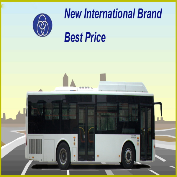 China microbus 40 seater 10.5m CNG city bus for sale