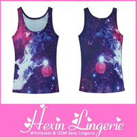 Wholesale 2013 Newest Galaxy Unisex Tank Top
