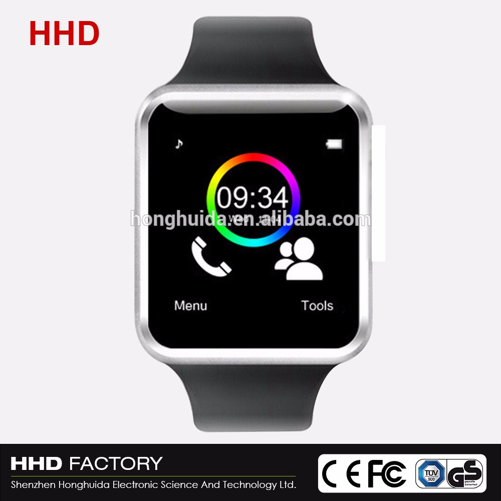 2017 camera andriod OEM / ODM Color smart watch a1 firmware