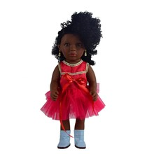 Ex factory price full body reborn American African black doll