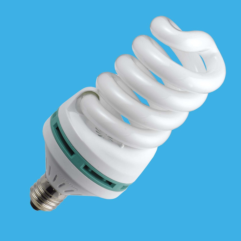 CFL principle fluorescent bulb glass lamp full spiral shade energy saving light lamp with cheap price