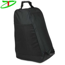 420D Polyester Shoes Pack Zipped Opening Sports Hiking Boot Bag With Ventilation Hole