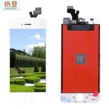 "cell phone parts color lcd touch screen for iphone 5"" cell phone"