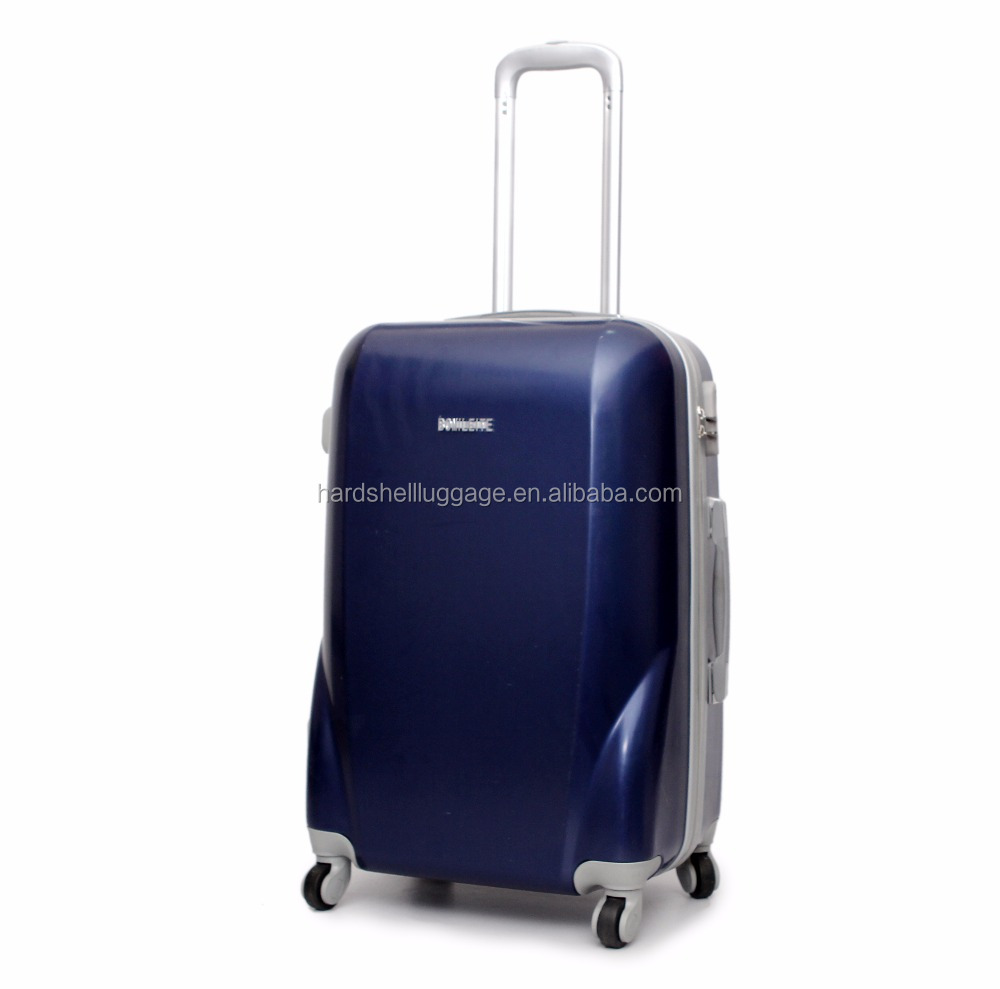 ABS +PC material hardshell luggage with cute design/abs/pc trolley travel luggage/bag set 20'' 24''