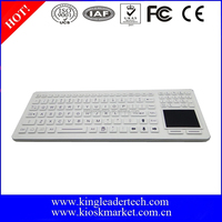 Fully-sealed Cleanable Backlight Silicone Keyboard With Integrated Touchpad