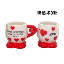 mugs with different shapes heart shape couple ceramic coffee mug for gift