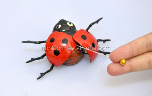 4 inch Ladybug Wholesale Toys from china for Children, Juguetes