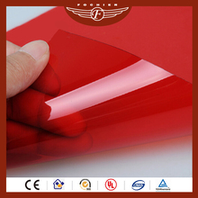 custom colorful transparent pvc plastic sheet 0.5mm