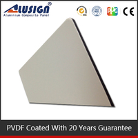 Alusign wall decoration panel plastic polypropylene honeycomb sandwich panel