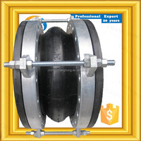Complete in specifications flexible rubber bellows coupling for pump for fire fighting