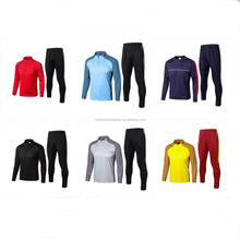 2017-18 Kids Tracksuit Jogging Boys Football Suits Youth Children Training Tracksuit