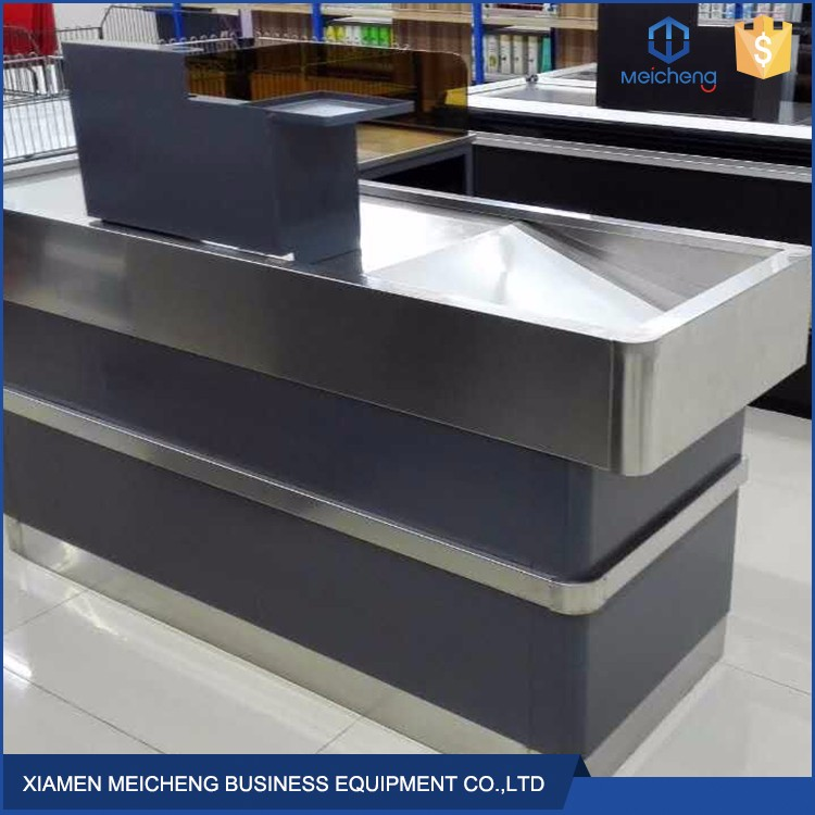 Put at home bar counter design retail supermarket checkout counter for sale