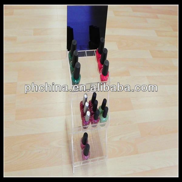 clear acrylic nail polish acrylic display rack,essie opi nail polish display rack